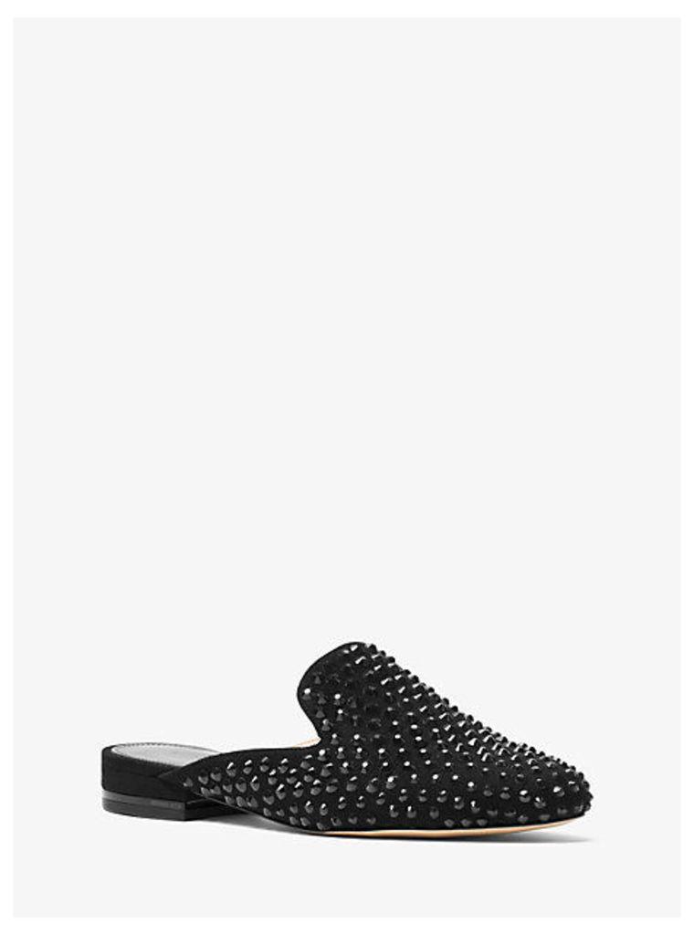 Dani Studded Leather Slide