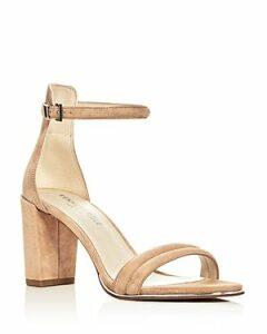 Kenneth Cole Lex Suede Ankle Strap Block Heel Sandals