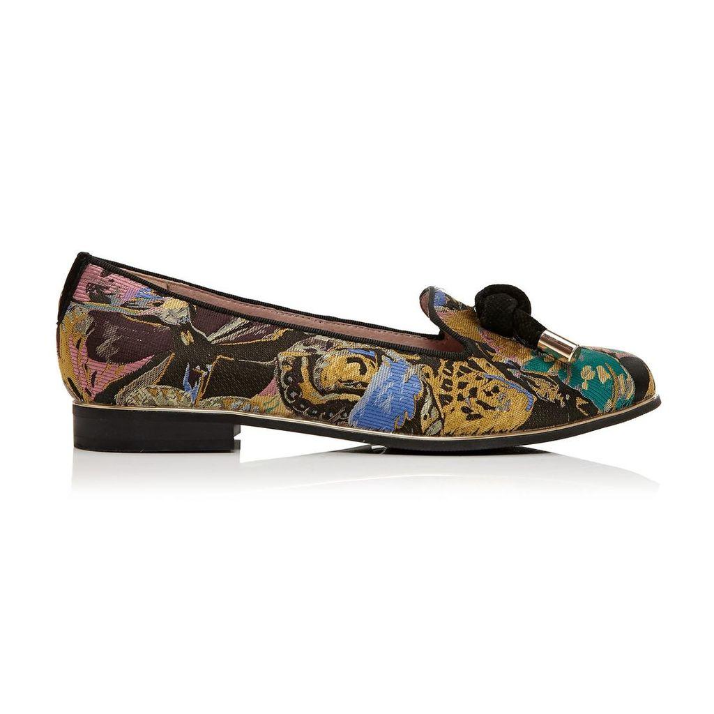 Moda in Pelle Estela Spice Clay Low Smart Shoes