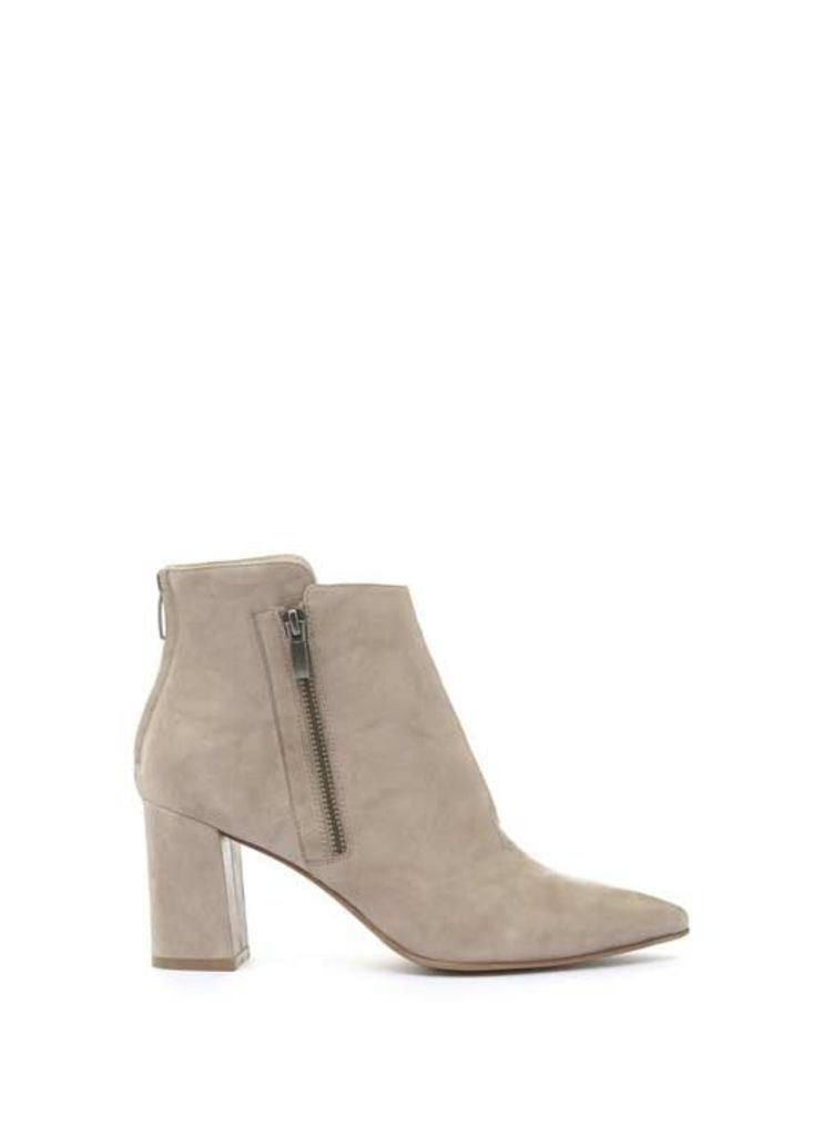 Stone Rose Stud Strap Ankle Boot