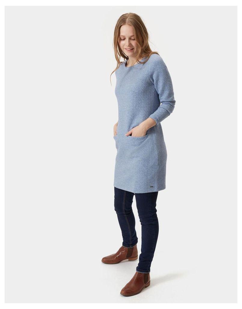Chambray Roya Jersey Tunic  Size 14   Joules UK