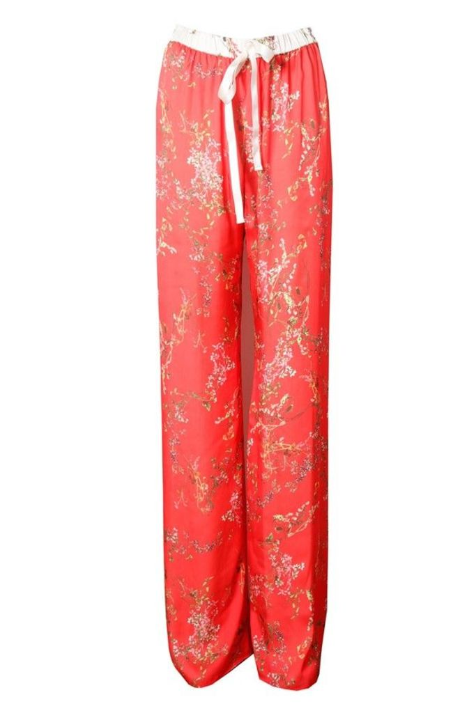 Seraphine Pant Blooming Red