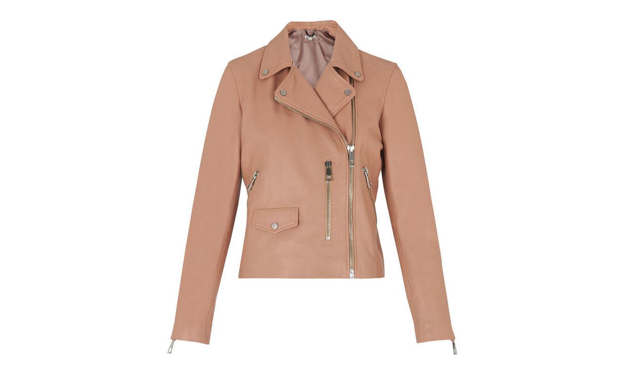 Agnes Leather Biker Jacket