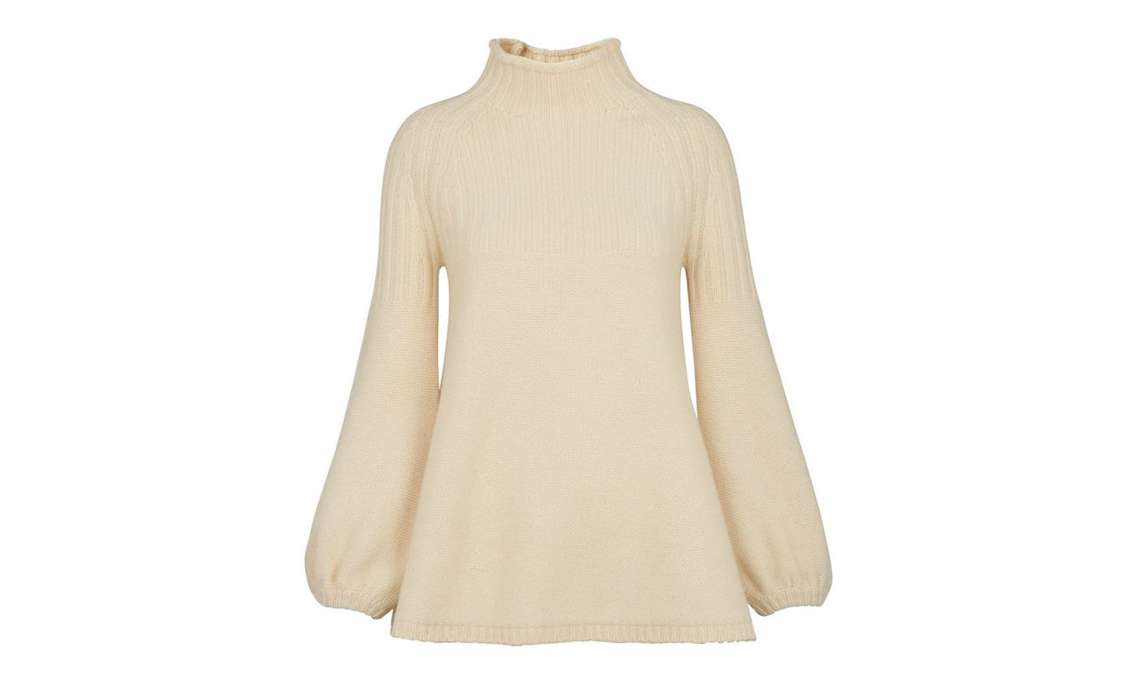 Taylor Fluted Sleeve Knit