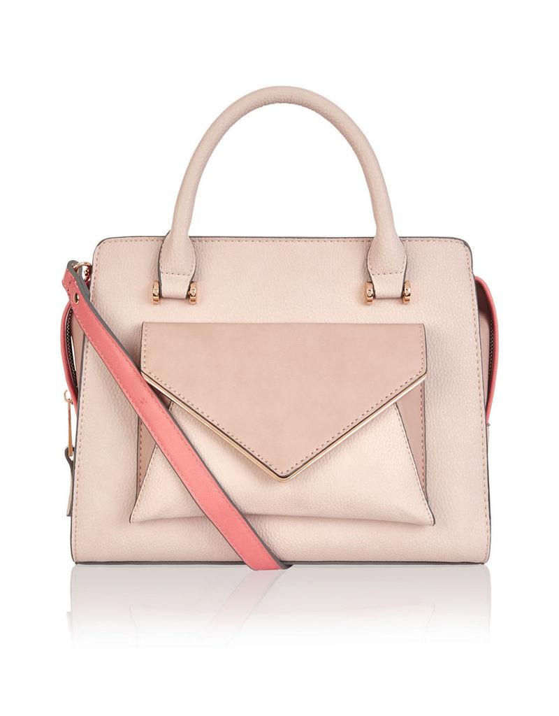 Leah Mini Colourblock Handheld Bag