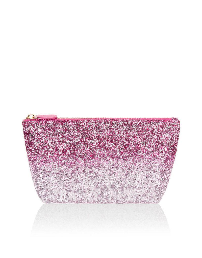 Ombre Glitter Makeup Bag