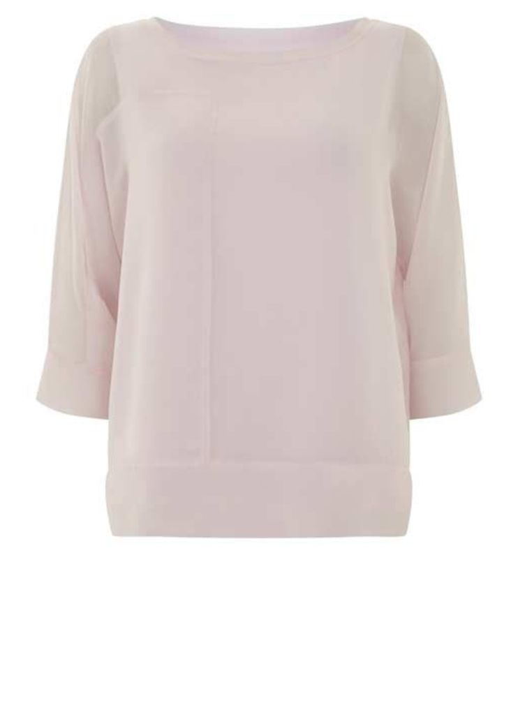 Candy Floss Layered Batwing