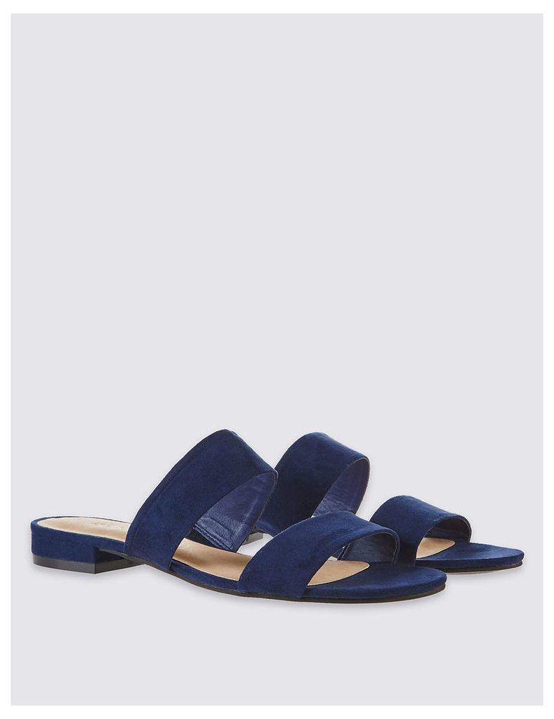M&S Collection Two Band Mule Sandals