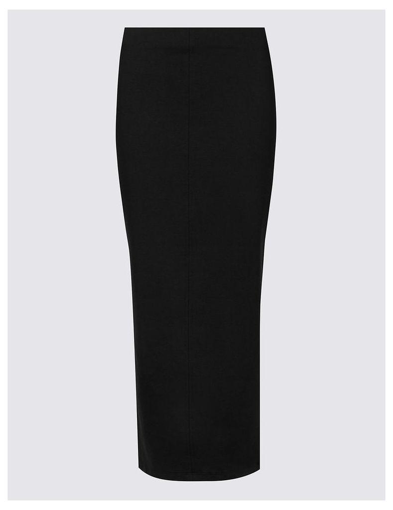 M&S Collection Column Ponte A-Line Skirt