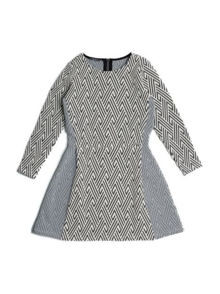 Guess Kids Dress With Geometric Pattern