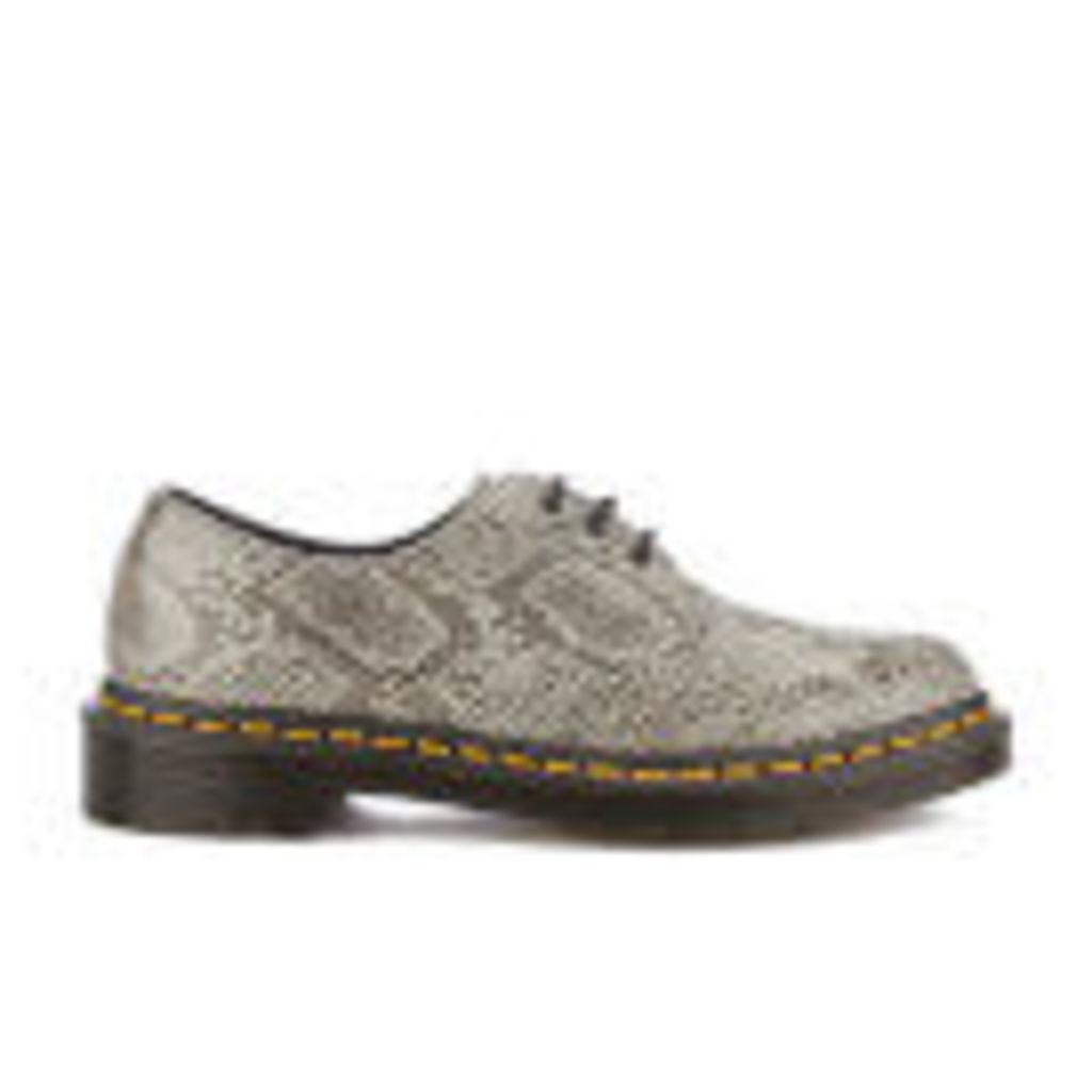 Dr. Martens Women's 1461 Viper 3-Eye Shoes - Light Grey