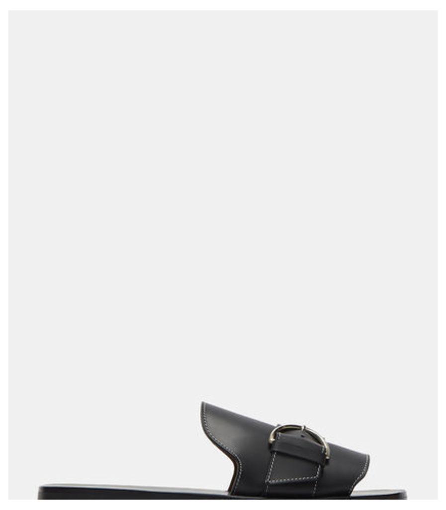 Virgie Buckled Slide Sandals