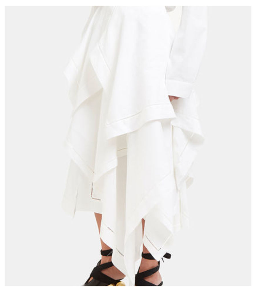 Asymmetric Handkerchief Skirt