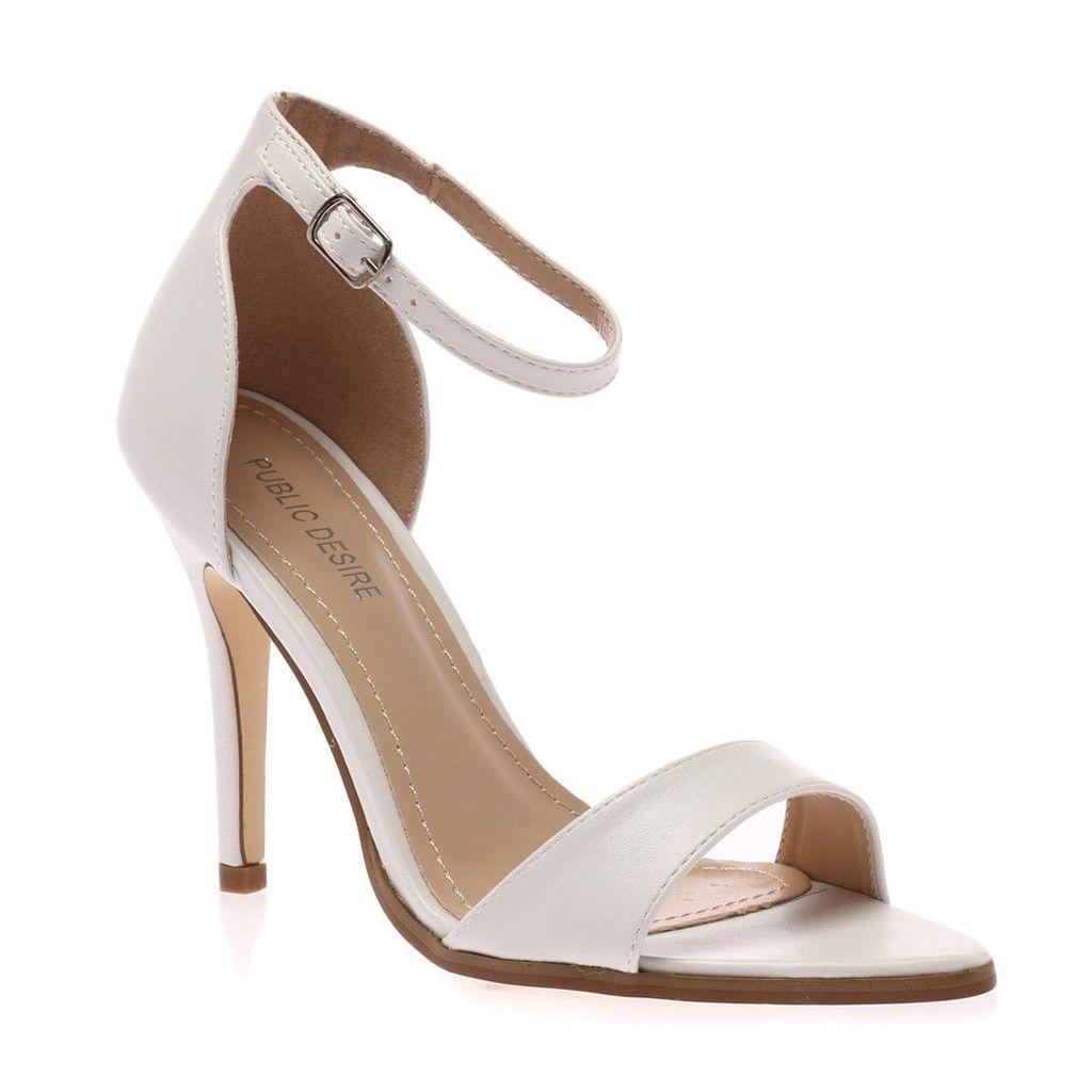 Mayor White Stiletto Heels, White