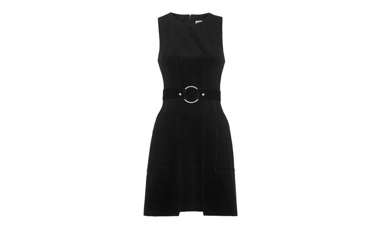 Kezia Cord Belted Shirt Dress