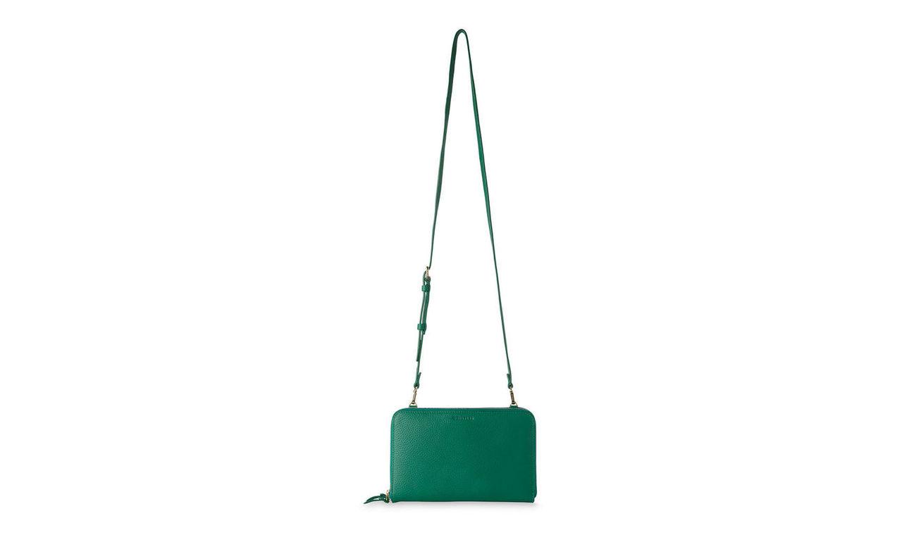 Union Double Zip Crossbody Bag