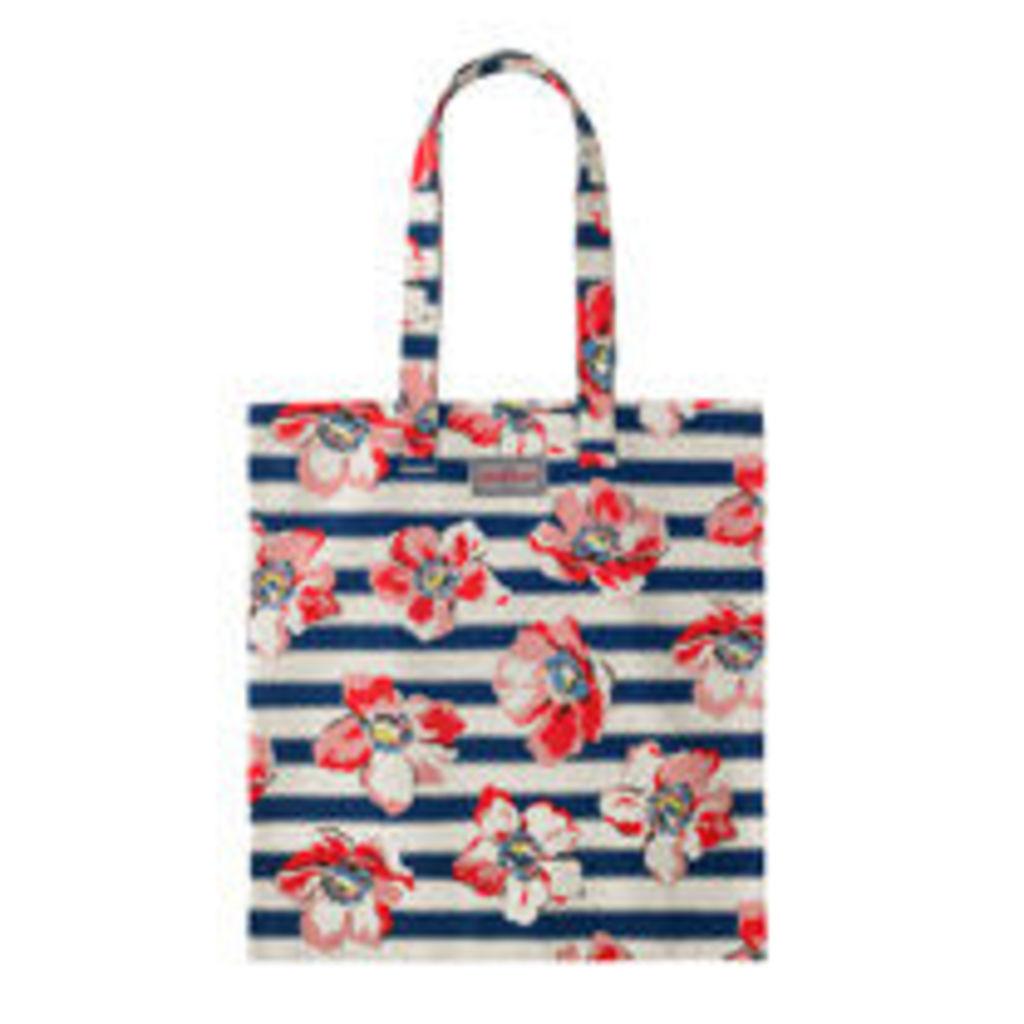 Large Anemone Stripe Bookbag