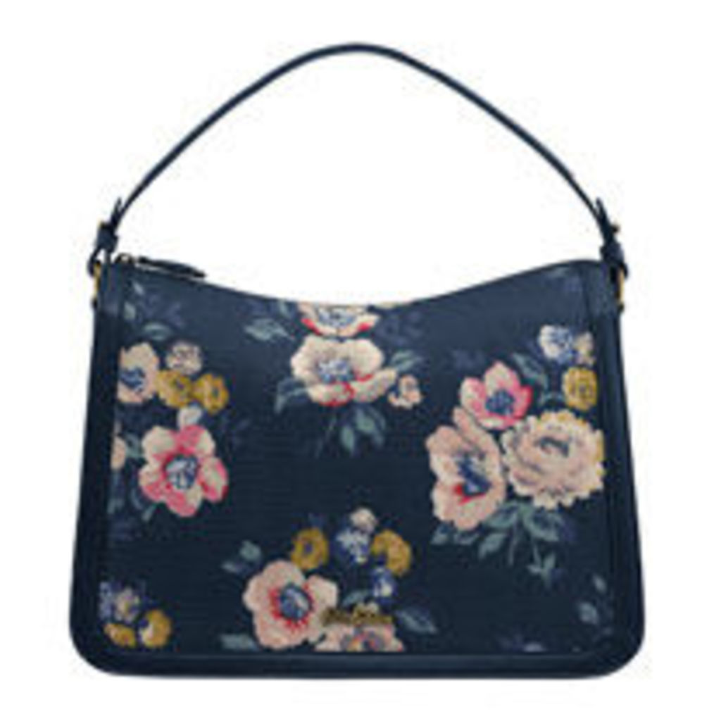 Windflower Bunch Embossed Lucky Shoulder bag