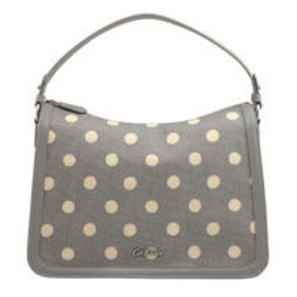Button Spot Embossed Lucky Shoulder bag