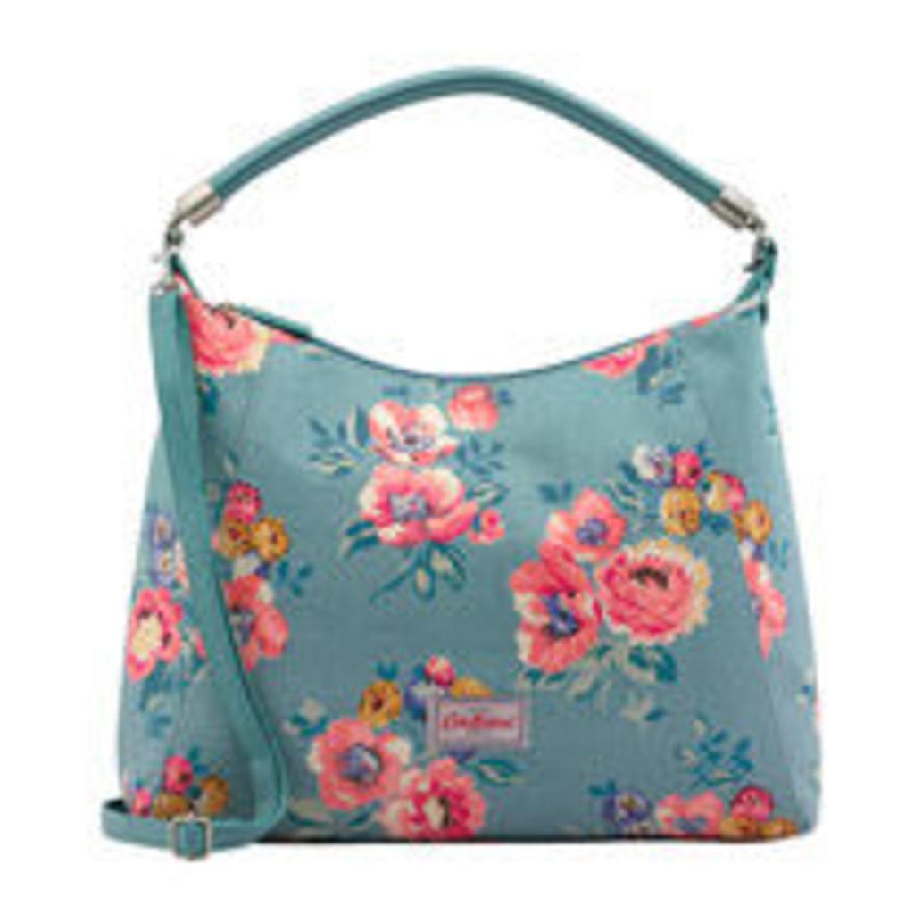 Windflower Bunch Hobo Handbag