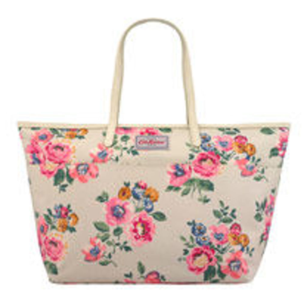 Windflower Bunch Large Trimmed Tote