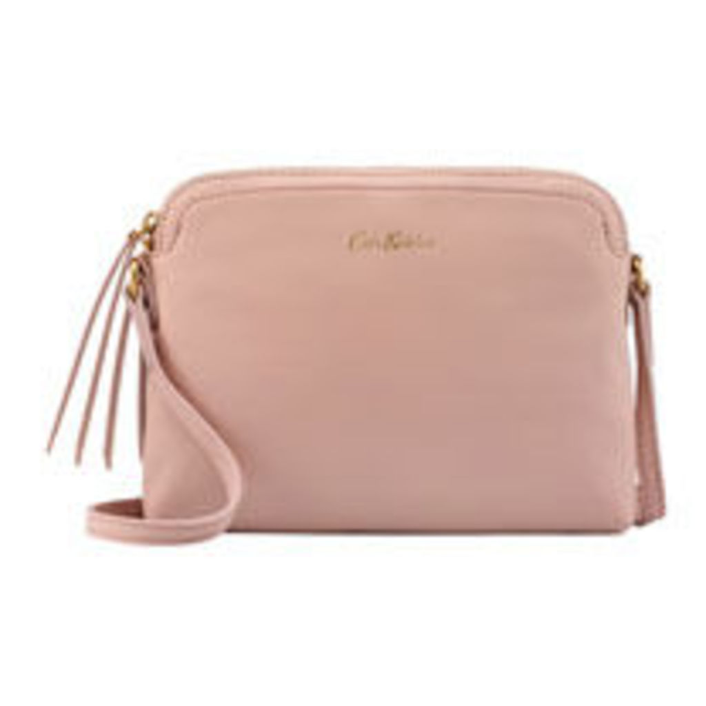 Small Leather Duo Cross Body