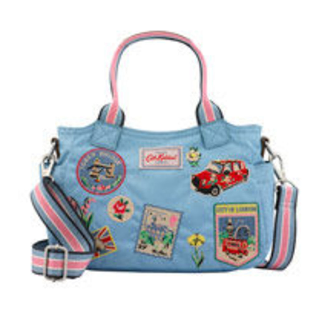 Mini Day bag with patches