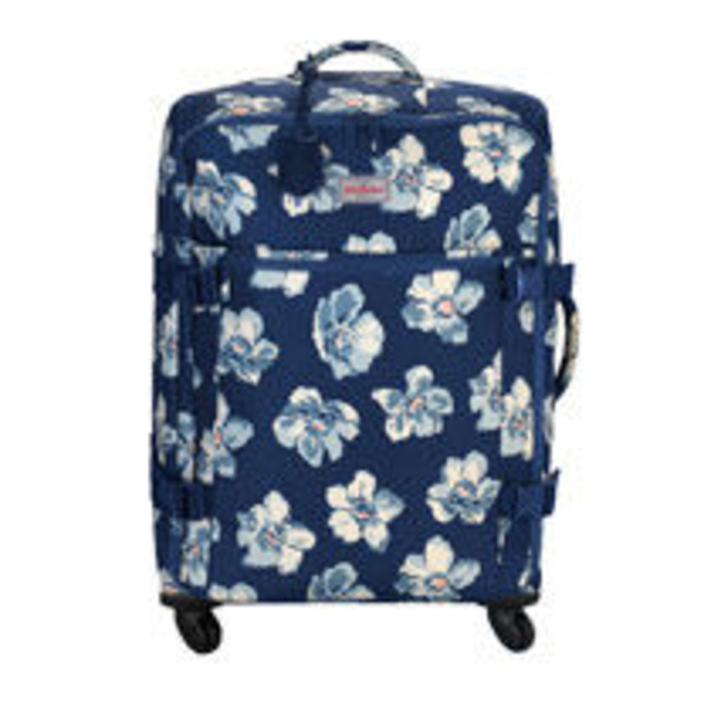 Scattered Anemone Large Four Wheel Suitcase