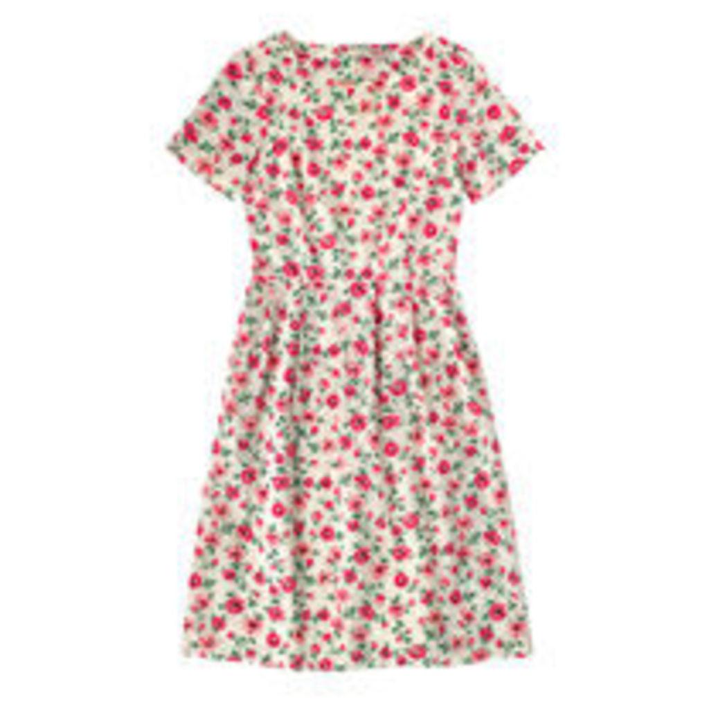 Daisy Sprigs Short Sleeve Dress