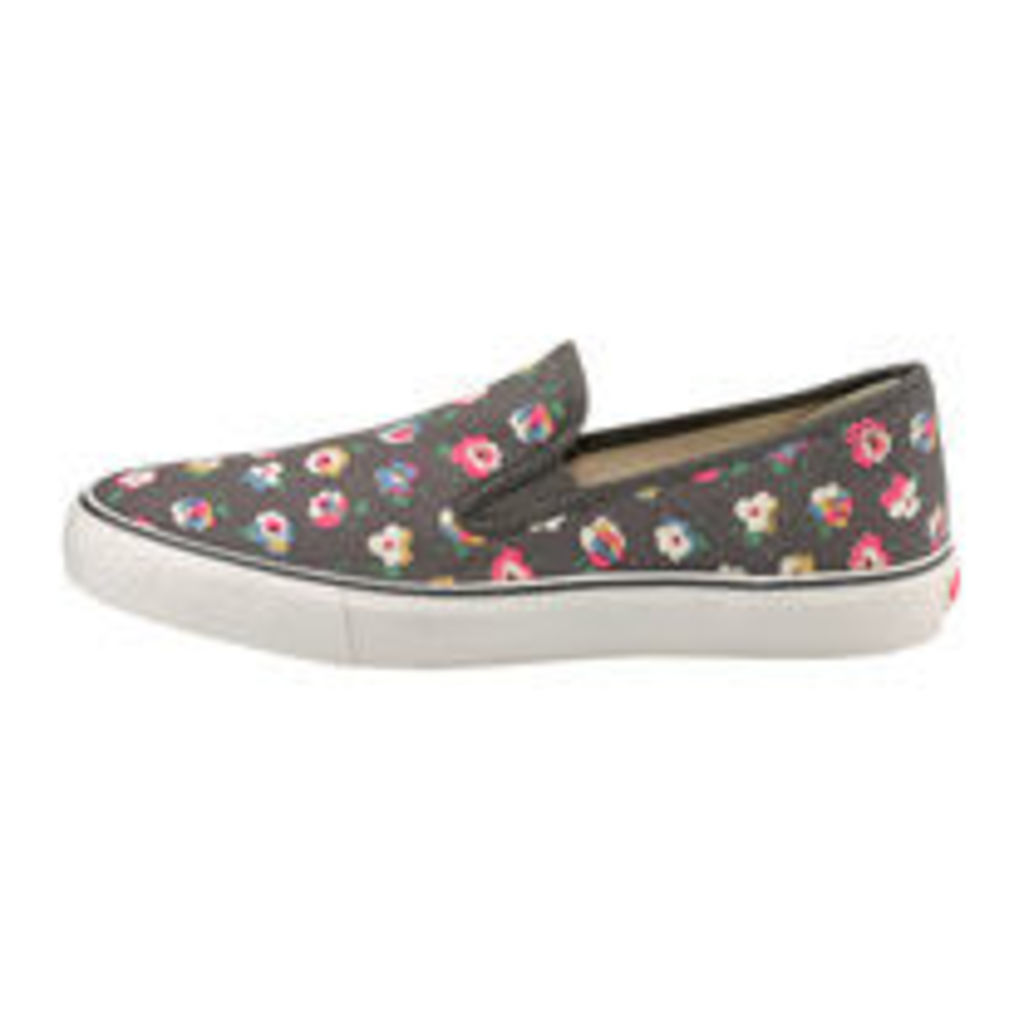 Cotton Ditsy Classic Slip on Trainers