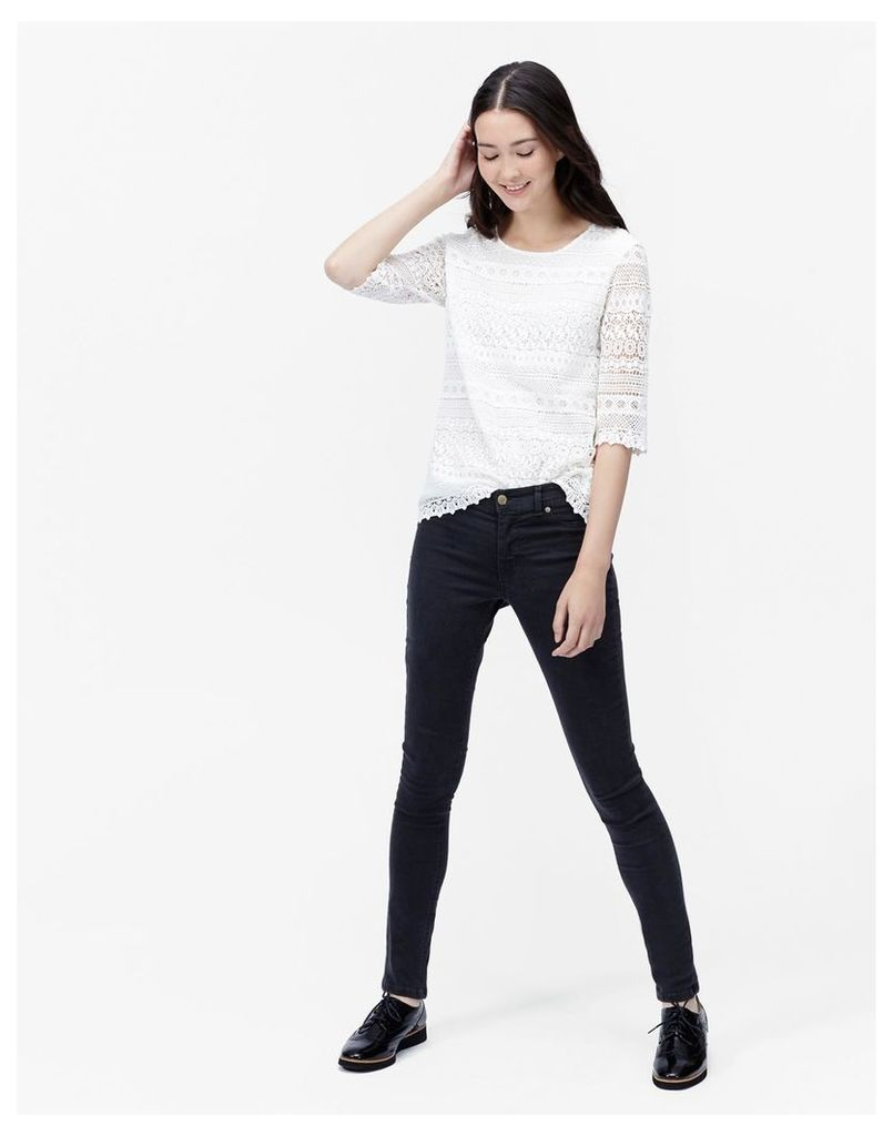 Blue Black Monroe Skinny Jeans  Size 20   Joules UK