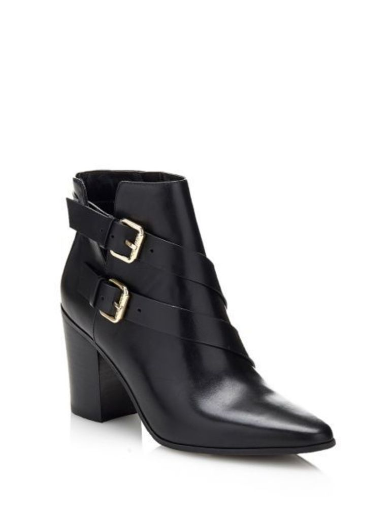 Guess Hea Leather Ankle Boot
