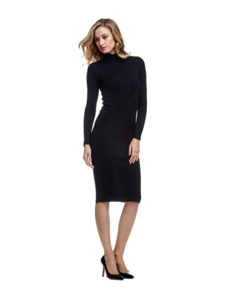 Marciano Guess Marciano High-Neck Dress