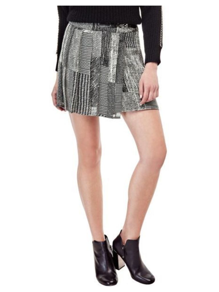 Guess Printed Mini Skirt