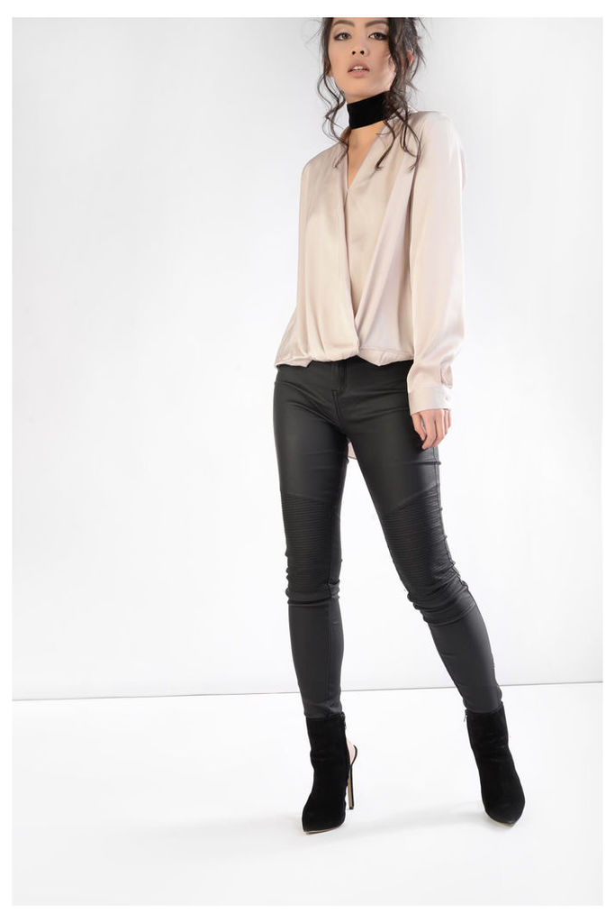 Oyster Cross Over Blouse