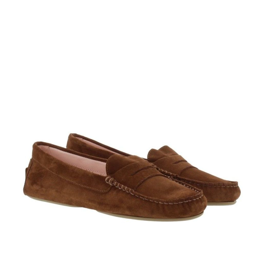 Pretty Ballerinas Loafers & Slippers - Josephine Loafers Zahara Cuoio Brown - in brown - Loafers & Slippers for ladies