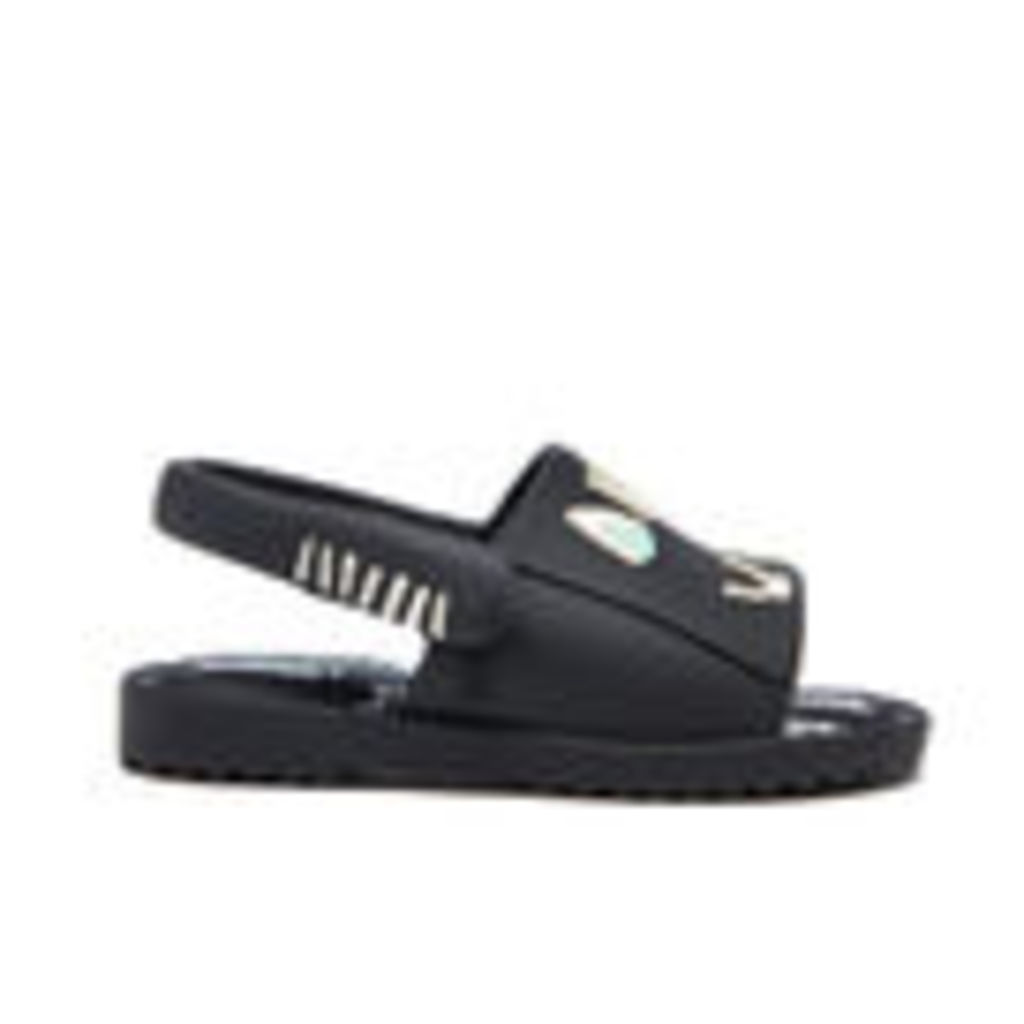 Mini Melissa Toddlers' Fabula Mia Sandals - Black - UK 9 Toddler