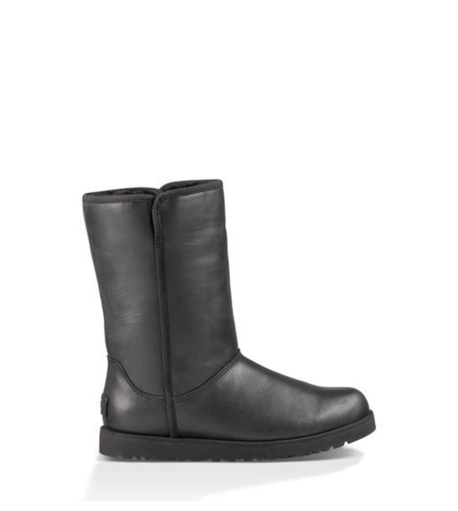 UGG Michelle Leather Womens Boots Black 4