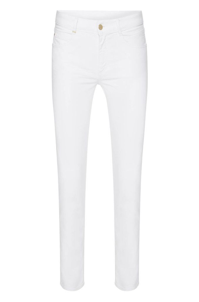 Regular-fit jeans made from stretch cotton in cropped length: `Nelin Tape`