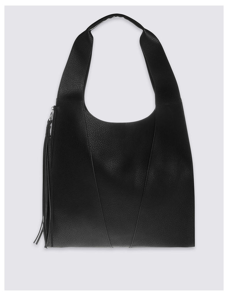 M&S Collection Faux Leather Sling Hobo Bag