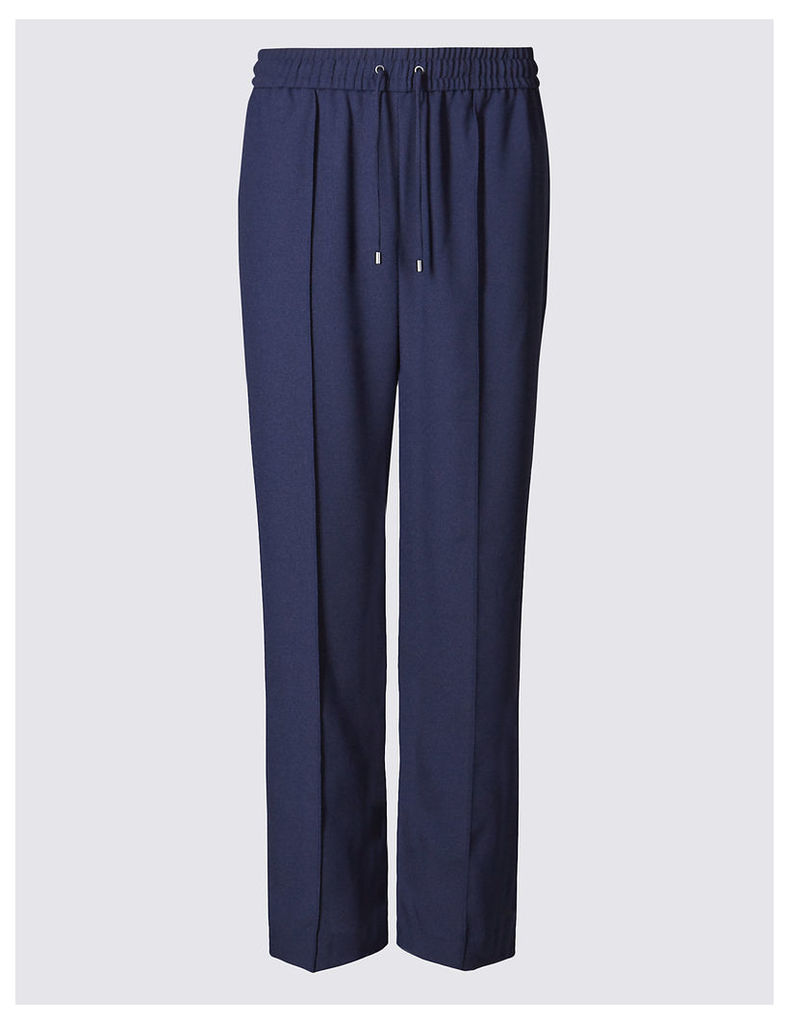 M&S Collection Straight Leg Trousers