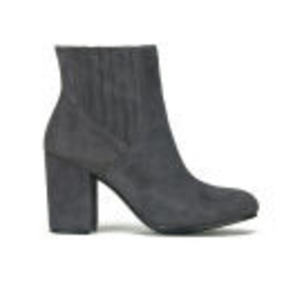 Ash Women's Feeling Suede Heeled Boots - Graphite