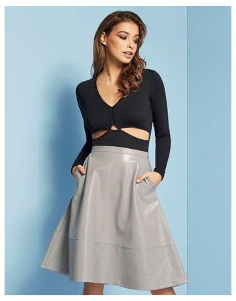 Lost Ink Midi Skirt