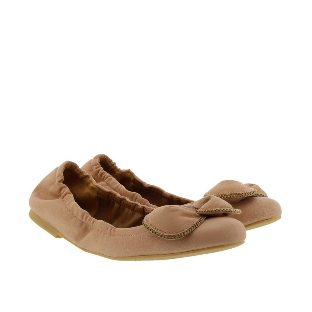 See By Chloé Ballerinas - Nevada Nappa Rubber Ballerina Matte Rosellina - in rose, beige - Ballerinas for ladies