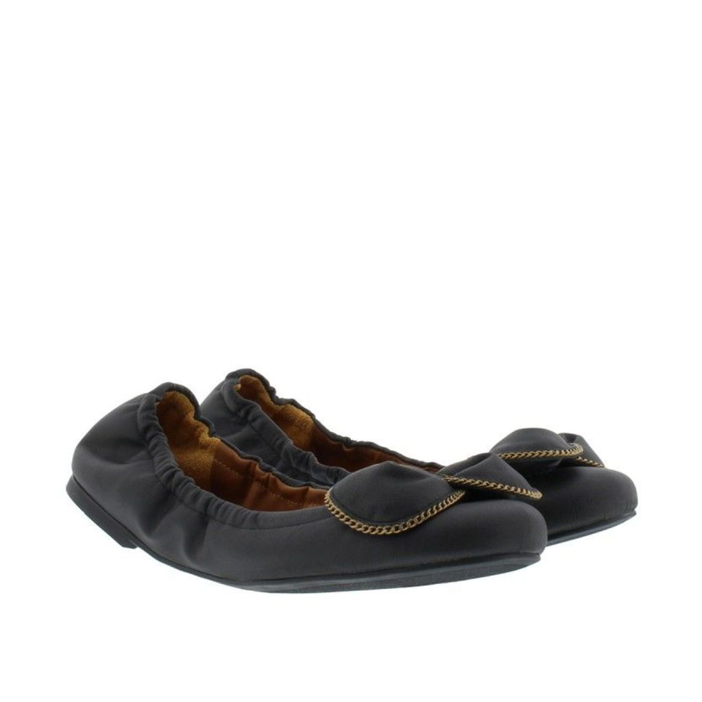 See By Chloé Ballerinas - Nevada Nappa Rubber Ballerina Matte Black - in black - Ballerinas for ladies