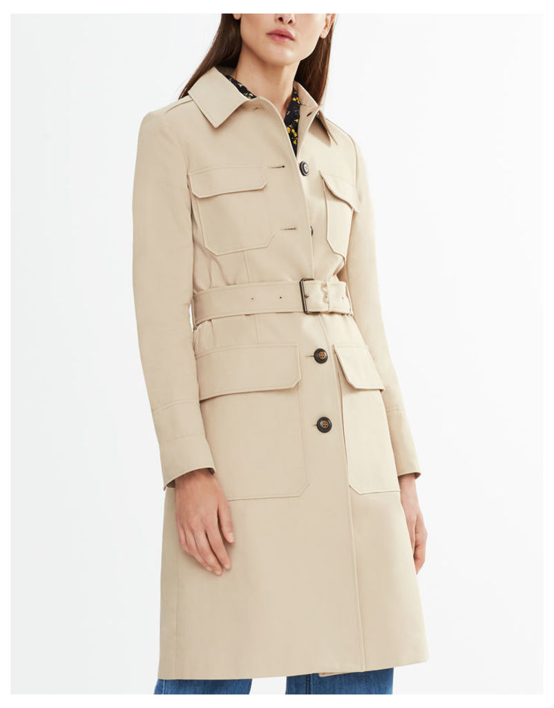 Belstaff Liv Tyler Allonby Coat Light Beige