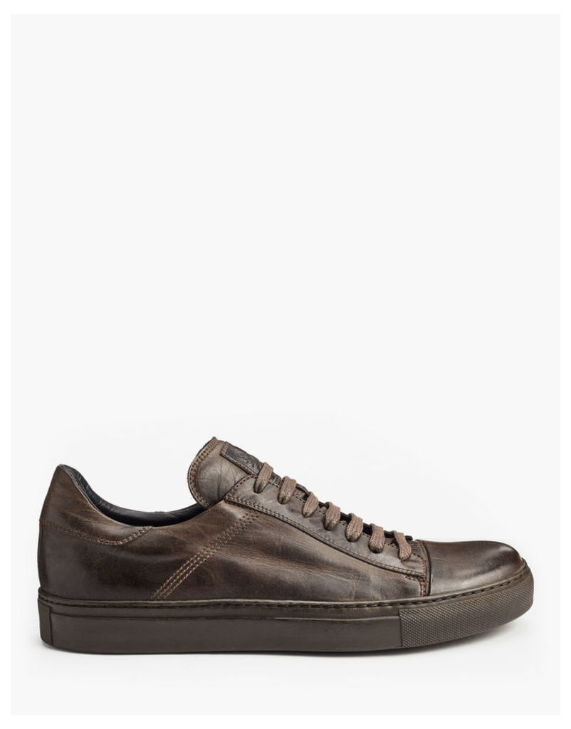 Belstaff Wanstead Low Sneakers Black Brown