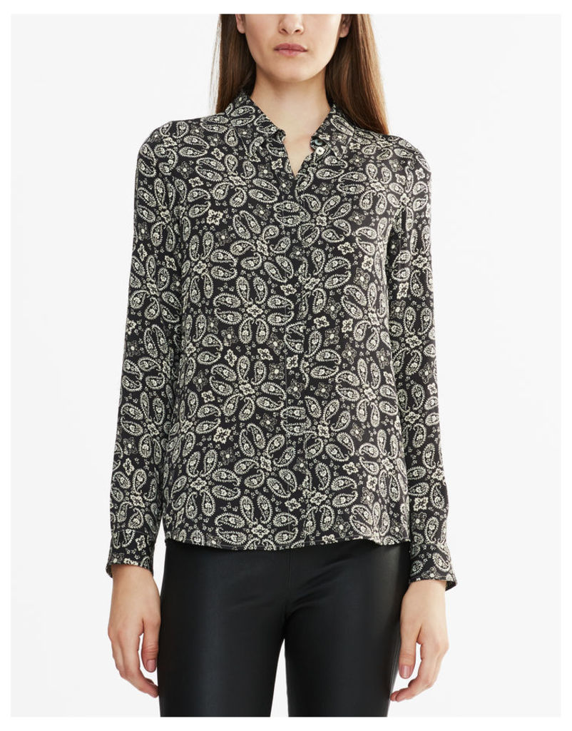 Belstaff Imelda Long-Sleeved Shirt Black