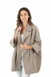 Box Drape Over Jacket