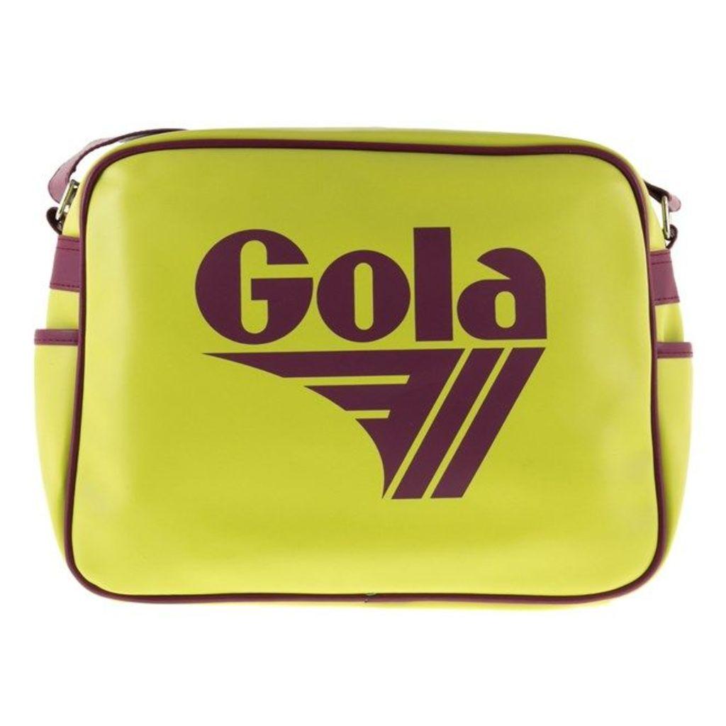 Gola Redford, Neon Green/Burgundy
